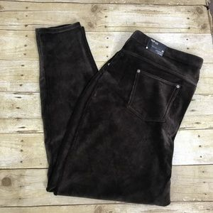 Style & Co Brown Baby Wale Corduroy Leggings 3X